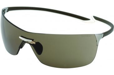 Tag Heuer Squadra Sunglasses, Pure Frame/Havana White Temples, Brown Outdoor Lens 5503-206