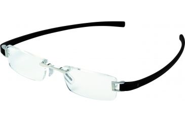 Tag Heuer Track Eyeglasses, Pure Frame/Black Temples, Clear Lens 7101-001