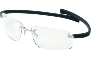 Tag Heuer Wide Eyeglasses, Pure Frame/Black Temples, Clear Lens 5202-001