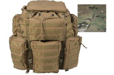Tactical Assault Gear Jumpable Recon Ruck Pack TAG Carrying Bag Multi-Camo