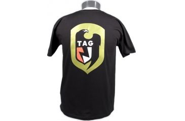 Tactical Assault Gear TAG Logo Tee Shirt Black - Back