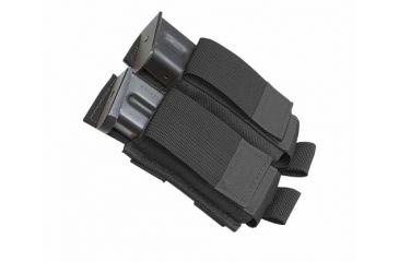 Tactical Assault Gear MOLLE Pistol Mag 2 Pouch, Black 812005