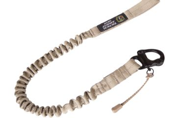 Tactical Assault Gear Personal Retention Lanyard with Snap Shackle Coyote Tan 811803