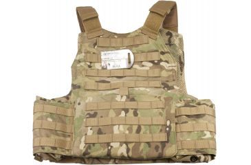 TAG Rampage Armor Plate Carrier Vest, Large/Extra Large, Multicam 814564