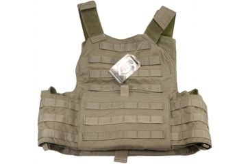 TAG Rampage Armor Plate Carrier Vest, Large/Extra Large, Ranger Green 814566