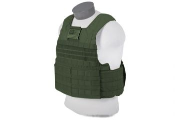 Tactical Assault Gear Rampage Releasable Armor Carrier, Large, Extra Large - Ranger Green 812899