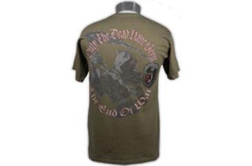 Tactical Assault Gear Reaper Shirt Olive Drab - Back
