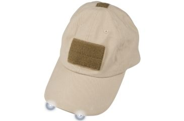 Tactical Assault Gear Warrior Hat with LED, Tan - TAG Apparel