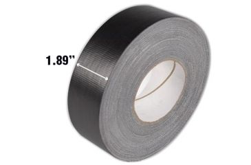 TAG Waterproof Tape 1.88inx60 yards Black 106040