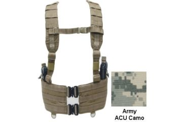 TAG Xerxes Gunner Tactical Vest Rig, Army ACU 820852