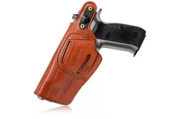 Tagua Gunleather Cross Draw Holster, w/Snap for Ruger