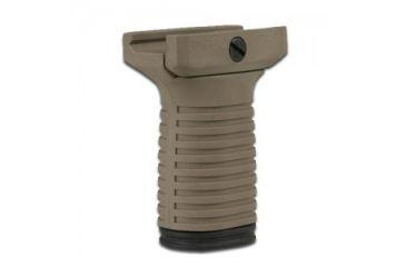 Tapco Intrafuse Vertical Grip, Short, Dark Earth STK90202 DARK EARTH