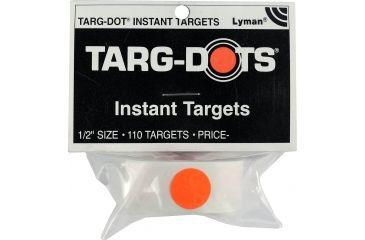 TargDots Instant Peel & Stick Dot Targets, 0.5in, 110 Pack - 4026050