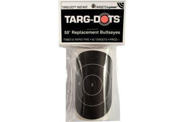 TargDots Instant Targets Rapid Fire Bull's Eye 3 50 Pack 4026901