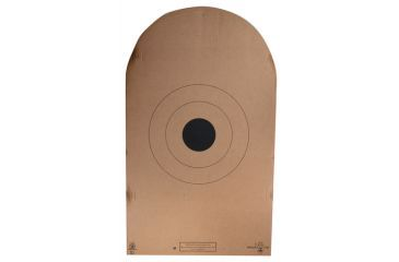 Target Barn AP-1-T NRA Action Shooting Heavy Tagboard Practice Targets 100 Per Pack