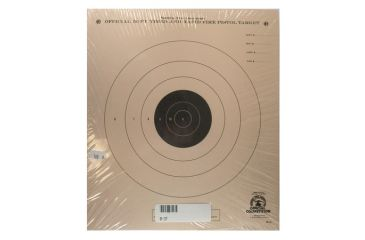 Target Barn B-3 Timed/Rapid Fire Paper Targets 100 Per Pack