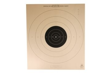 Target Barn B-6 Light Paper Targets 50 Yard Slow Fire 100 Per Pack