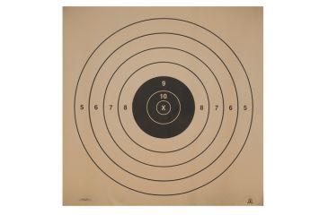 Target Barn SR High Power Rifle Standard Paper Targets 50 Per Pack