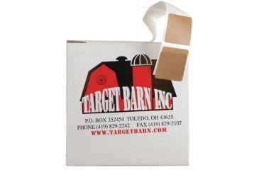 Target Barn Target Pasters In Dispenser Box For Cardboard Targets Tan 1000 Per Box