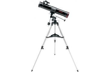 Tasco 76x700mm Space Station Telescope Black Reflector EQ red Dot Finderscope,49076700