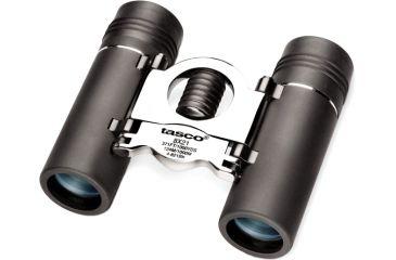 Tasco Specialty 8x21 Binoculars 4821BK Black with Silver Metal Bridge