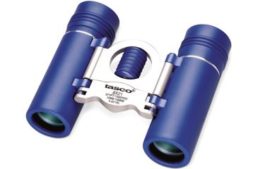 Tasco Specialty 8x21 Binoculars 4821BL Blue with Silver Metal Bridge
