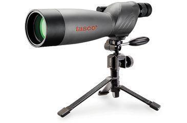 New, Tasco World Class 20-60x60mm Zoom Spotting Scope WC206060 w/ Tripod