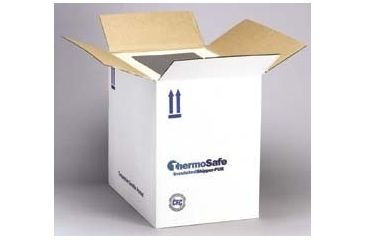 Tegrant Thermosafe ThermoSafe Insulated Shippers, Polyurethane, Thermosafe Brands E36UPS 5.1 Cm (2'') Wall Thickness