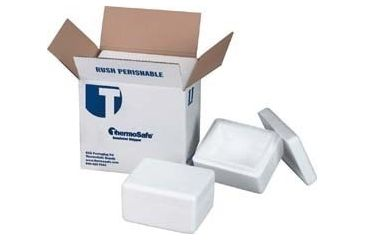 Tegrant Thermosafe ThermoSafe Thick and Thin Wall Insulated Shippers, Expanded Polystyrene, ThermoSafe Brands 328UPS Thin Wall, Foam Only
