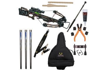 3-TenPoint Crossbow Technologies Turbo GT Crossbow Package w/ 3x Pro-View 2 Scope