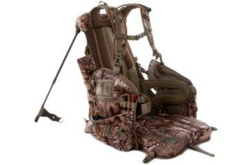 Tenzing TZ TP14 Turkey Pack w/ Seat Real Tree Xtra 972482  sc 1 st  Optics Planet & Tenzing TP14 Turkey Hunting Pack w/ Padded Spring-loaded Chair | 4.5 ...