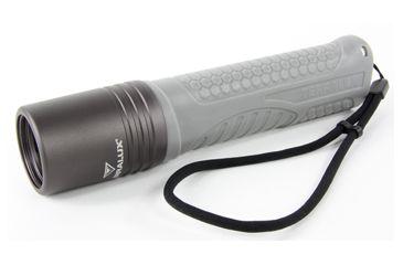 8-Lightstar Colorado Flashlight, 580 Lumens, Black/Gray