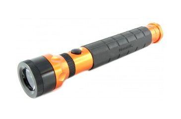 TerraLux InfiniStar CR Fully Modular Rechargeable LED Flashlight- 300 Lumens- Orange TERRALUX-TLF-NFSTC-OR