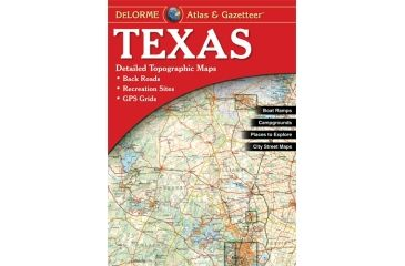 Texas Atlas, Publisher - Delorme