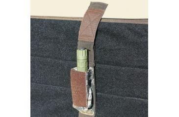 Texas Hunt Co GPS/Flashlight Sheath for Control Panel, BK Black 200150201