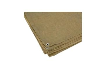 Texsport Tarp, Pe 12' X 16' Shelf Pack Brn 17582TEX