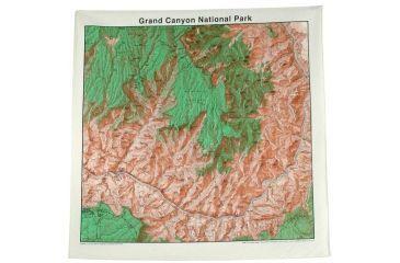The Printed Image Glacier National Park Topo Ban 522
