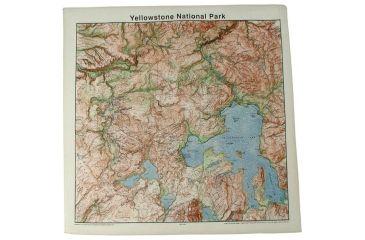 The Printed Image Yellowstone Topo Bandana 526