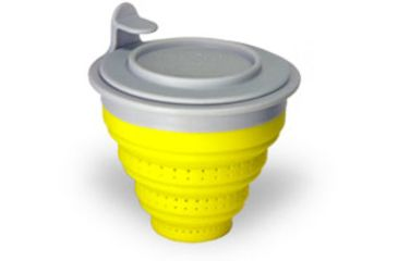 The Tea Spot Tuffy Steeper with Collapsible Filter, Yellow 735065