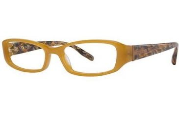 Theory TH1130 Eyeglass Frames - Frame Amber/Amber Mosaic, Size 52/16mm TH113001