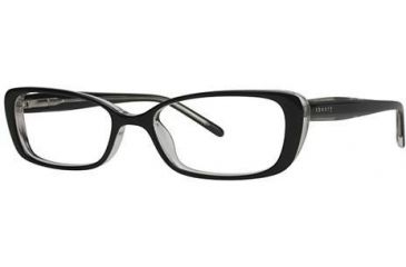 Theory TH1140 Bifocal Prescription Eyeglasses - Frame Black/Crystal, Size 51/16mm TH114001