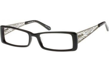 Thierry Mugler 3557 Eyewear - Black-Silver (c1)