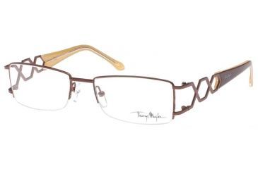 Thierry Mugler 3607 Eyeglasses Frmae, C3 Brown Tan