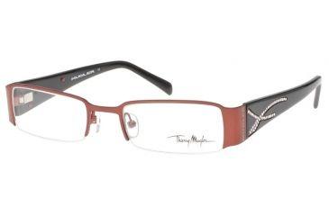 Thierry Mugler 9214 Eyewear, C4 Burgundy-Black Frame