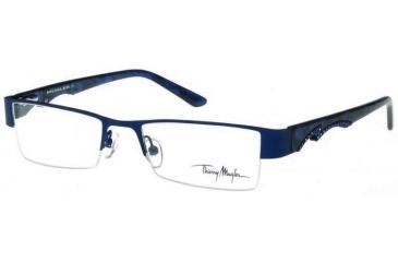 Thierry Mugler 9238 Rx Progressive Eyeglasses With C6 Navy Frame 9238 C6