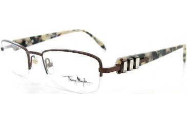 Thierry Mugler Progressive Eyeglasses9273 Brown-Tortoise Frame, Women, 50-19-135 9273-C4PROG