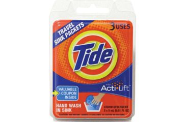 Tide  Travel Sink Packets 84100