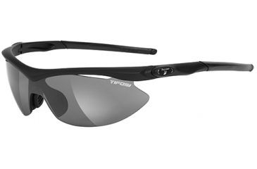 Tifosi Optics Asian Slip w/ AC Red, Clear, Smole Lenses, Matte Black Frame 1060100101