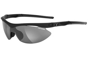 Tifosi Optics Asian Slip w/ EC, GT, Smoke Lenses, Matte Black Frame 1060200115