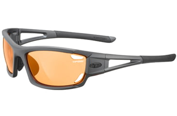 Tifosi Optics Dolomite 2.0 Backcountry Orange Fototec Lenses, Matte Gunmetal Frame 1020300333